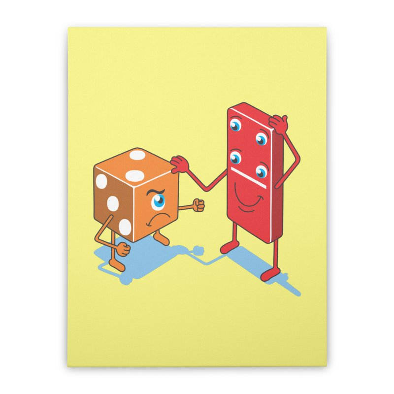 Toy Characters Home Stretched Canvas by juliowinck's Artist Shop