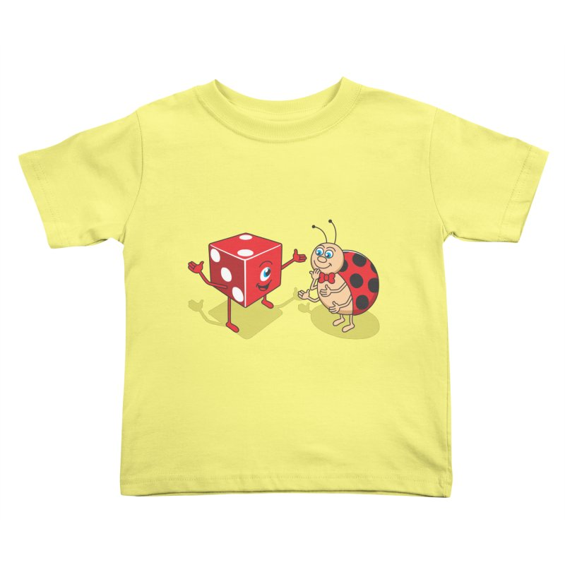 Ladybug Kids Toddler T-Shirt by juliowinck's Artist Shop