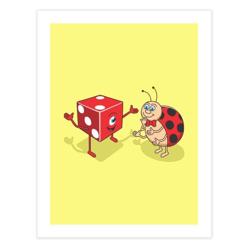 Ladybug Home Fine Art Print by juliowinck's Artist Shop