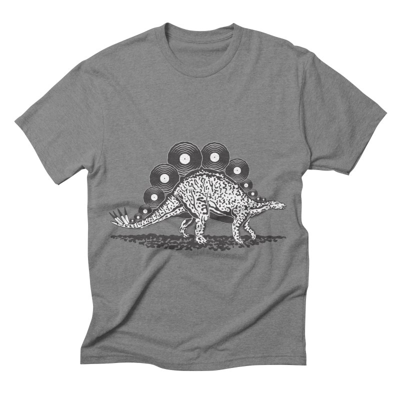 LPsaurus Men's Triblend T-shirt by juliowinck's Artist Shop