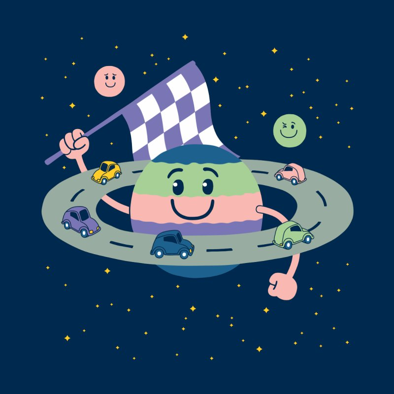 Baby Saturn by juliowinck's Artist Shop