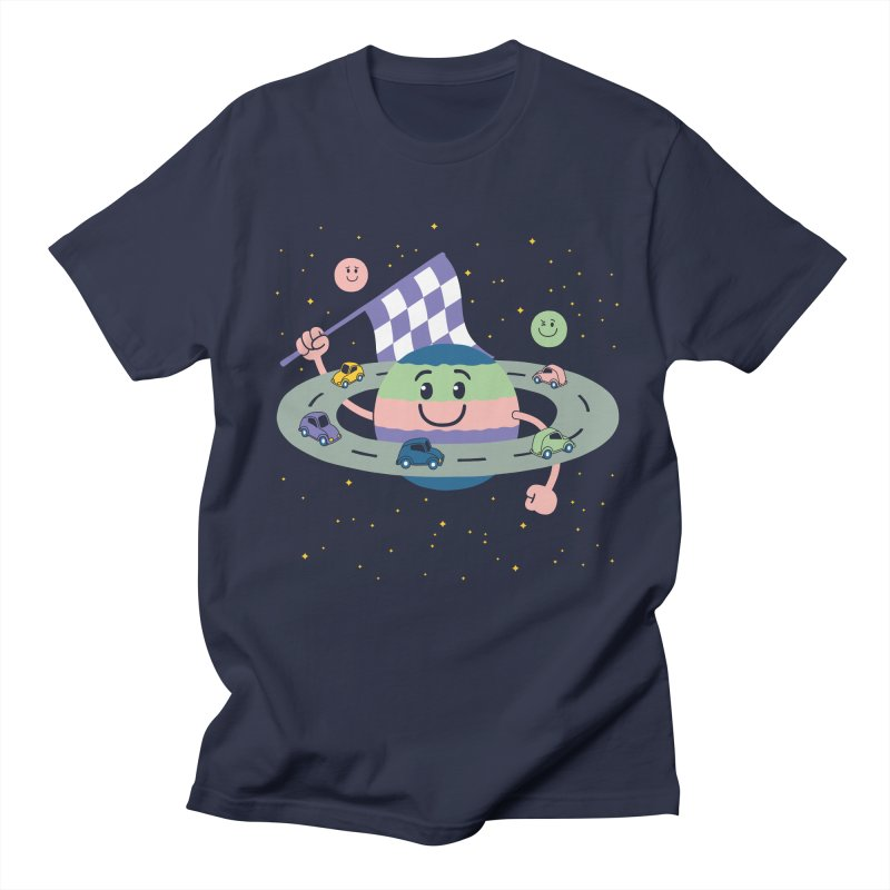 Baby Saturn Men's Regular T-Shirt by juliowinck's Artist Shop