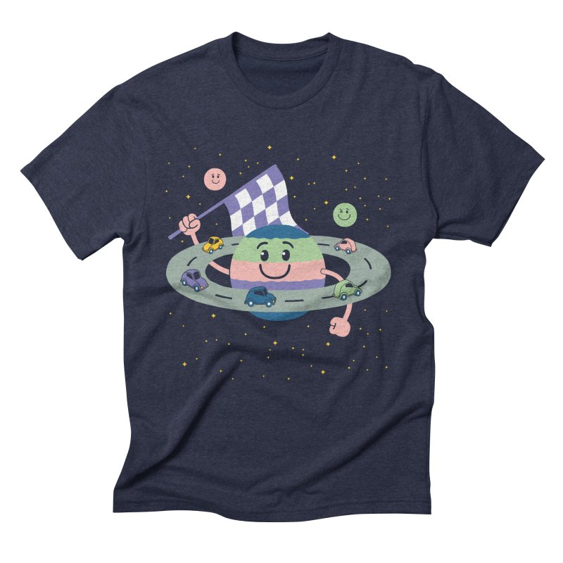 Baby Saturn Men's Triblend T-Shirt by juliowinck's Artist Shop