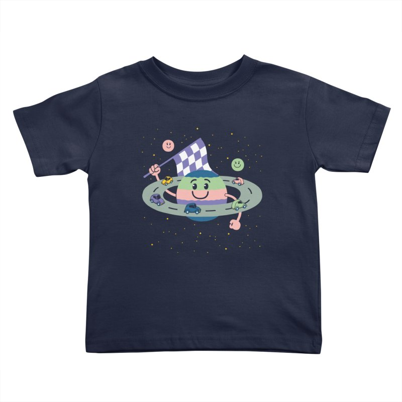 Baby Saturn Kids Toddler T-Shirt by juliowinck's Artist Shop