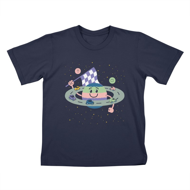 Baby Saturn Kids T-Shirt by juliowinck's Artist Shop