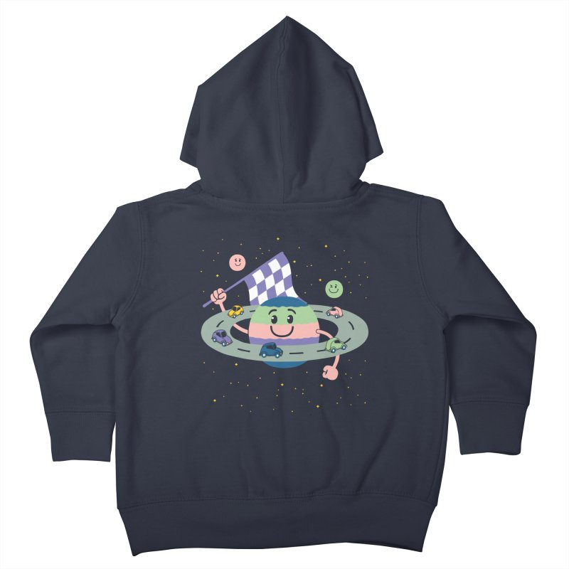 Baby Saturn Kids Toddler Zip-Up Hoody by juliowinck's Artist Shop