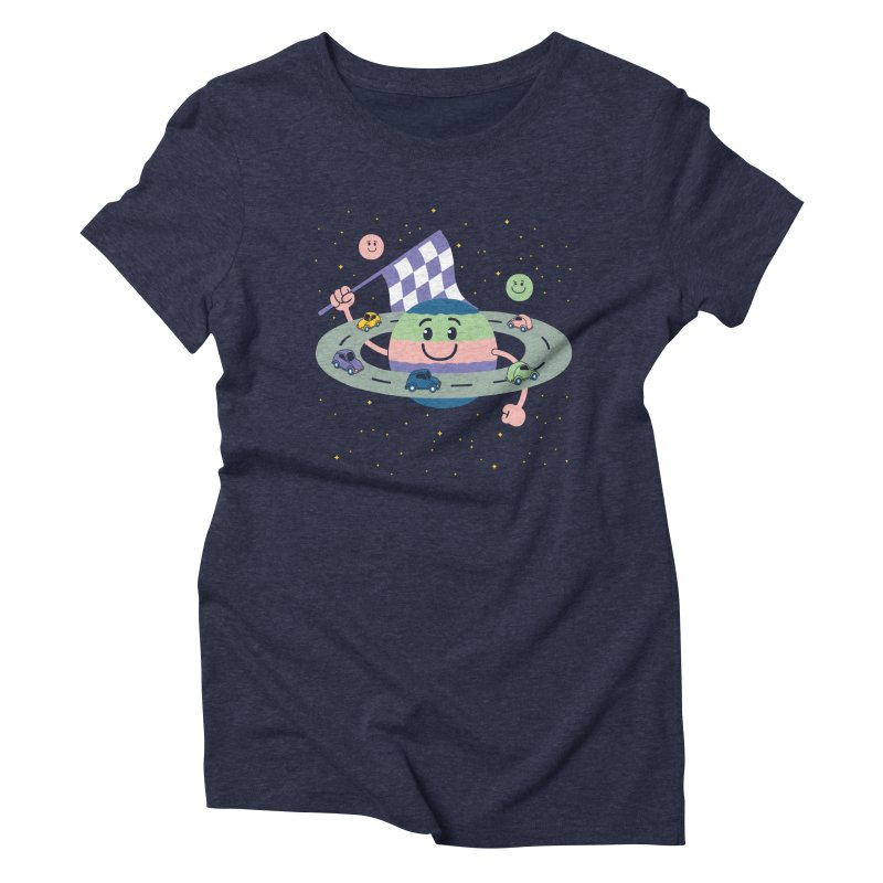 Baby Saturn Women's Triblend T-Shirt by juliowinck's Artist Shop