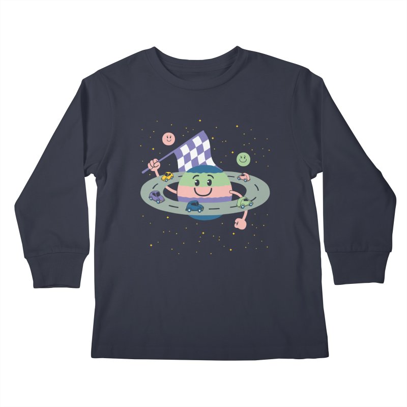 Baby Saturn Kids Longsleeve T-Shirt by juliowinck's Artist Shop