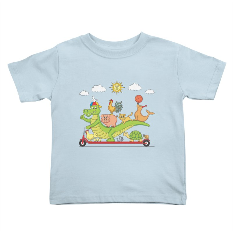 Super Ride Kids Toddler T-Shirt by juliowinck's Artist Shop