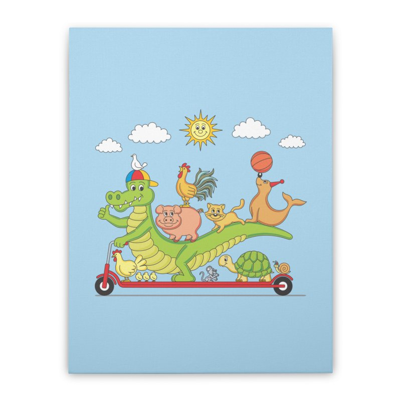 Super Ride Home Stretched Canvas by juliowinck's Artist Shop