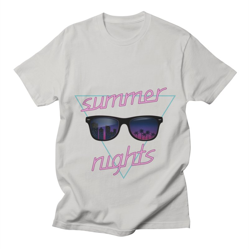 Summer nights Men's Regular T-Shirt by juliusllopis's Artist Shop
