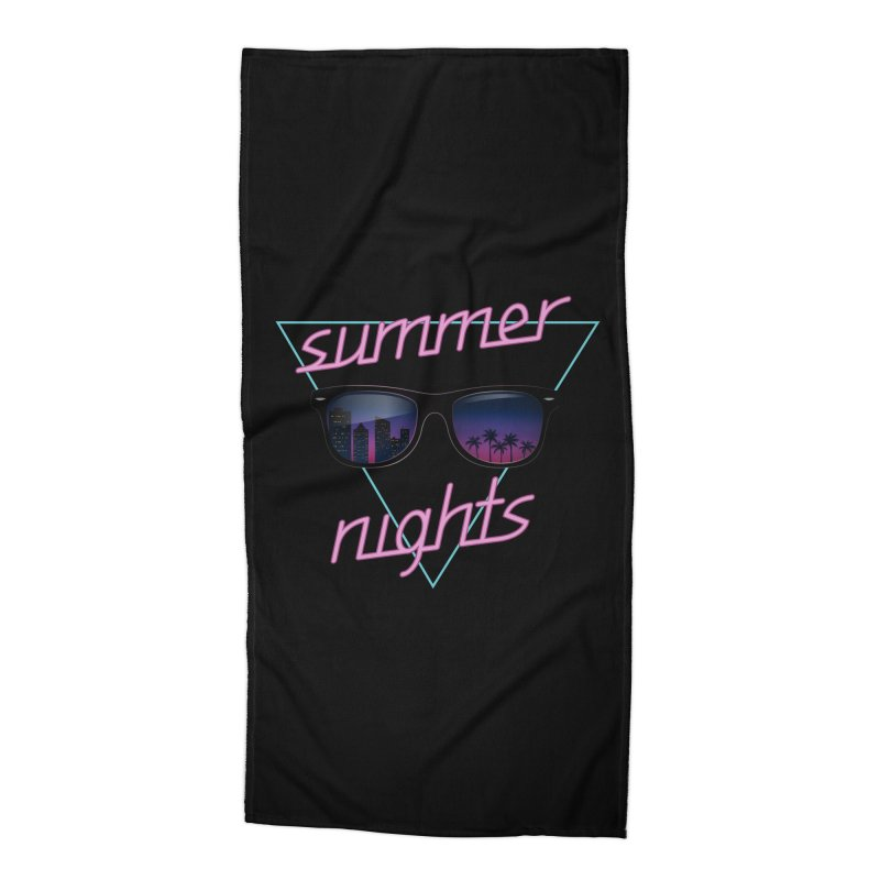 Summer nights Accessories Beach Towel by juliusllopis's Artist Shop