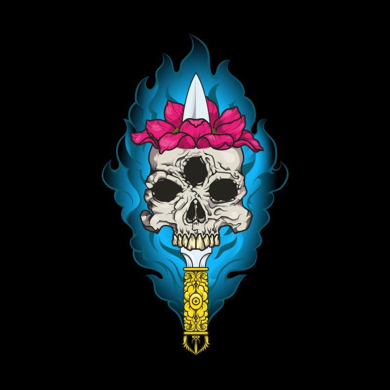 Lotus skull by juliusllopis's Artist Shop