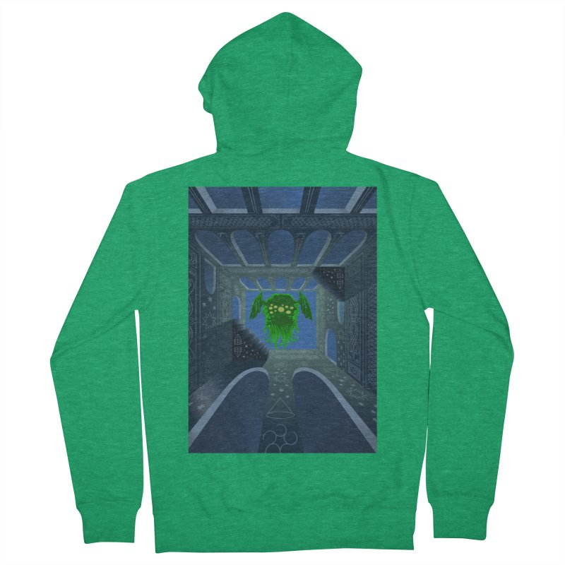Call of Cthulhu Men's French Terry Zip-Up Hoody by juliusllopis's Artist Shop