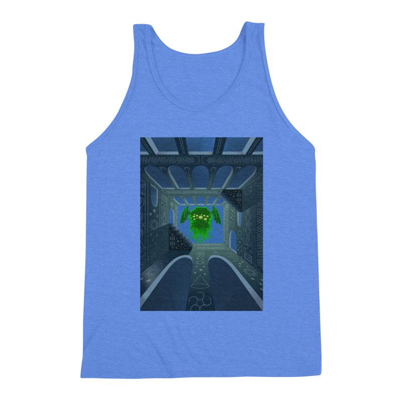 Call of Cthulhu Men's Triblend Tank by juliusllopis's Artist Shop