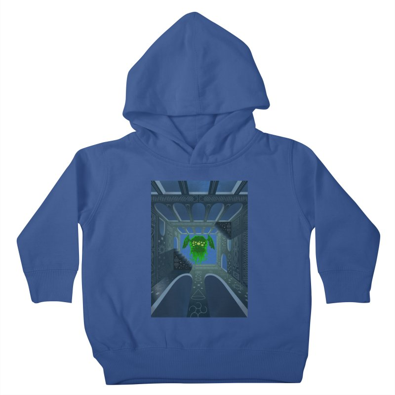 Call of Cthulhu Kids Toddler Pullover Hoody by juliusllopis's Artist Shop