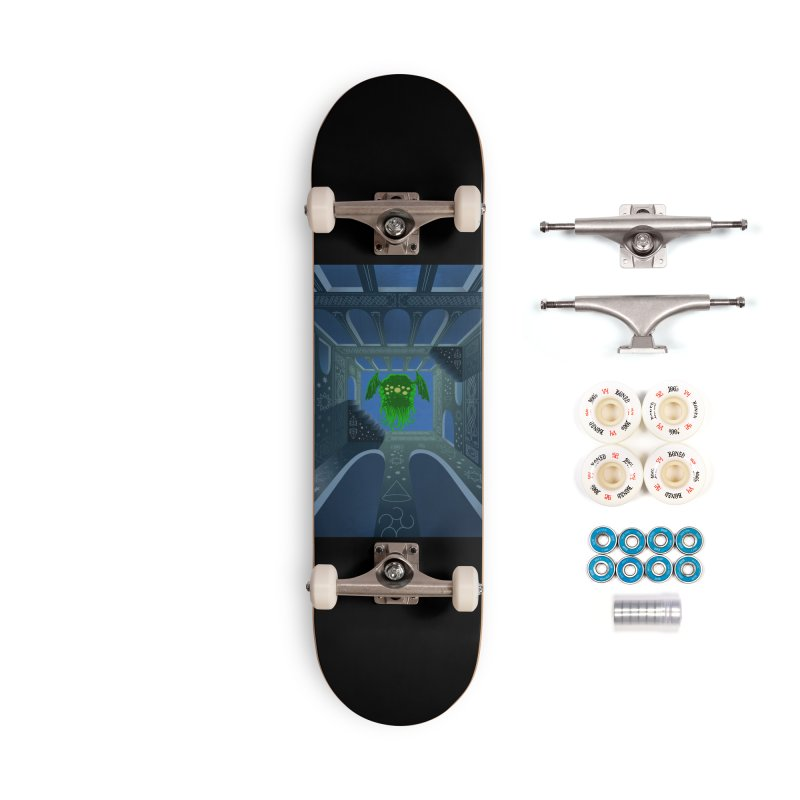 Call of Cthulhu Accessories Complete - Premium Skateboard by juliusllopis's Artist Shop