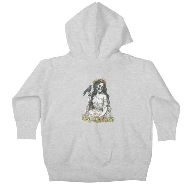 Death of spring Kids Baby Zip-Up Hoody by juliusllopis's Artist Shop