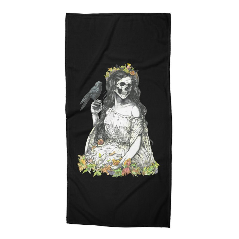 Death of spring Accessories Beach Towel by juliusllopis's Artist Shop