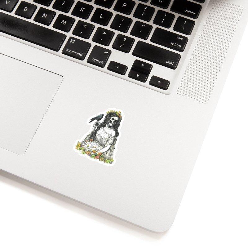 Death of spring Accessories Sticker by juliusllopis's Artist Shop