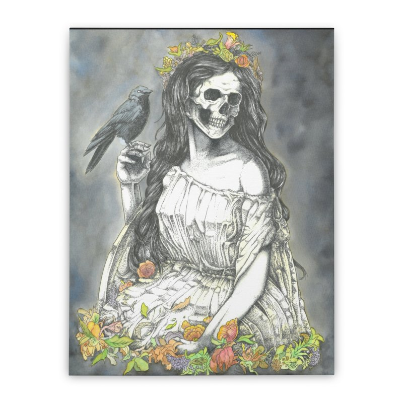 Death of spring Home Stretched Canvas by juliusllopis's Artist Shop