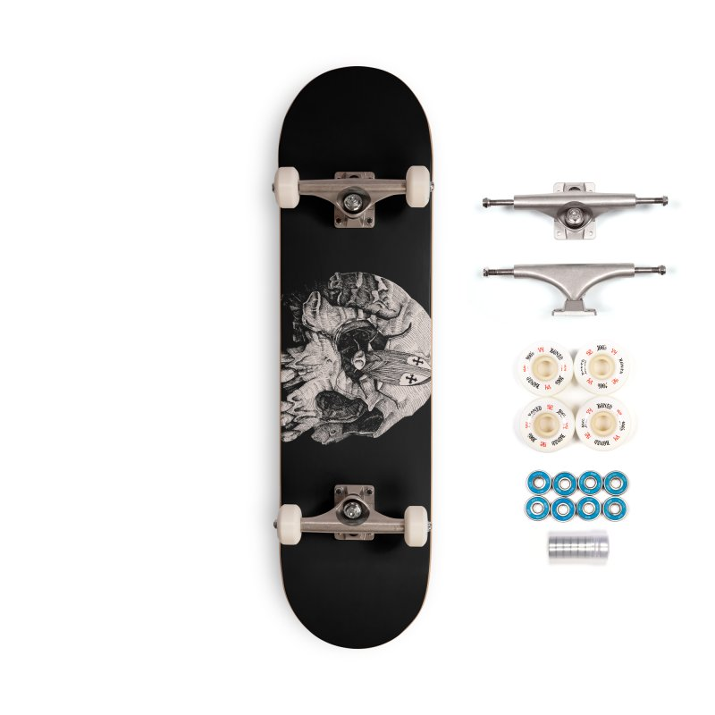 Cockroach pope Accessories Complete - Premium Skateboard by juliusllopis's Artist Shop