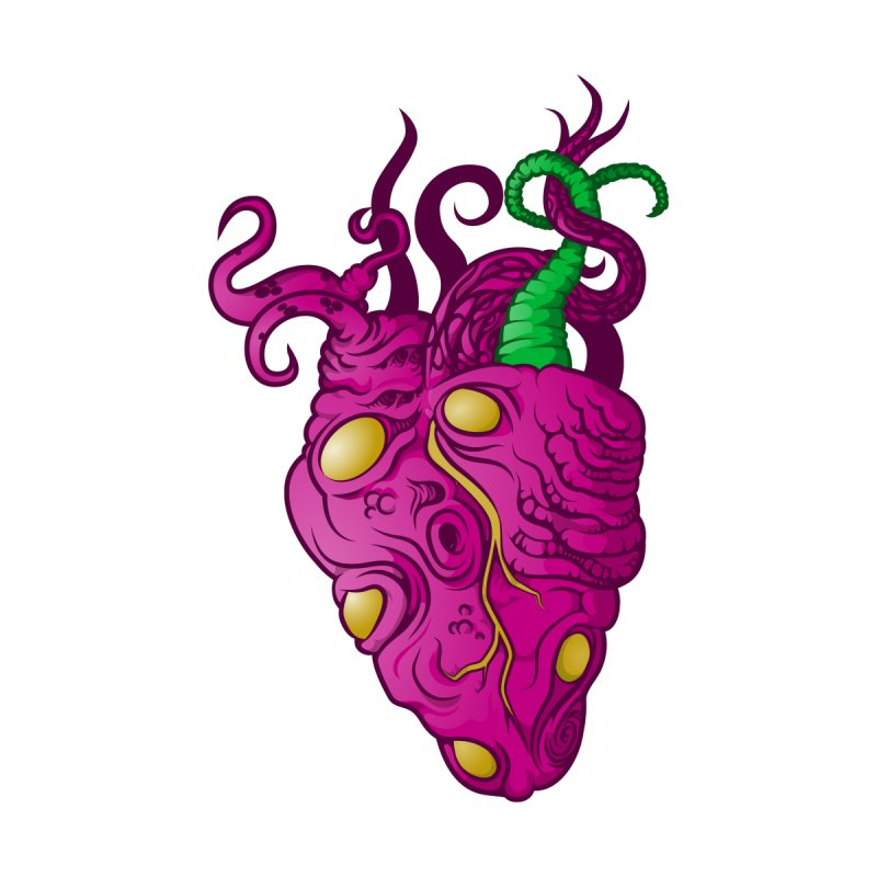 Cthulhu heart by juliusllopis's Artist Shop