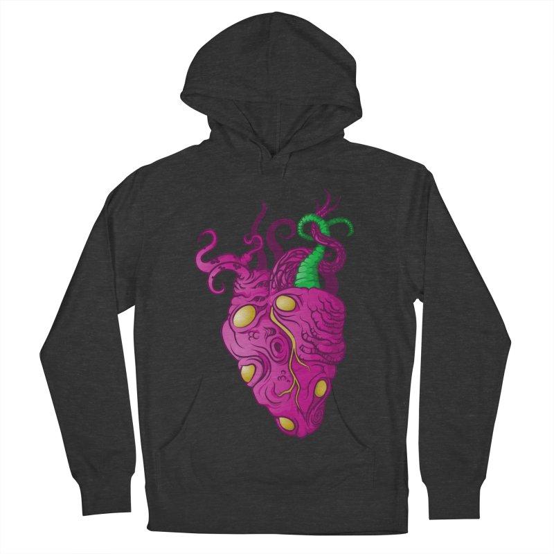 Cthulhu heart Women's Pullover Hoody by juliusllopis's Artist Shop