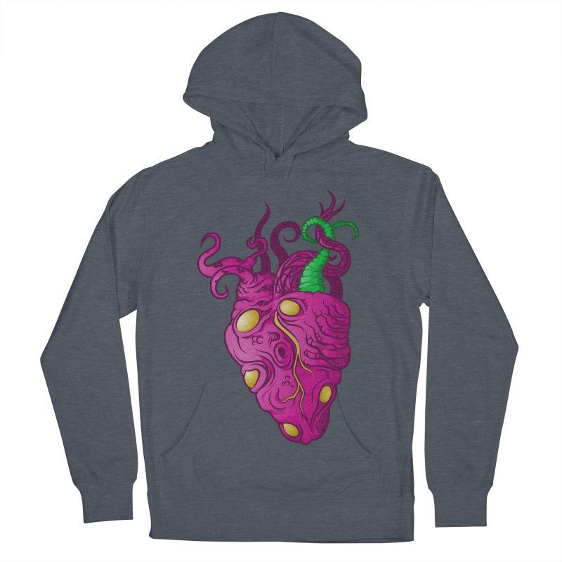 Cthulhu heart Men's Pullover Hoody by juliusllopis's Artist Shop