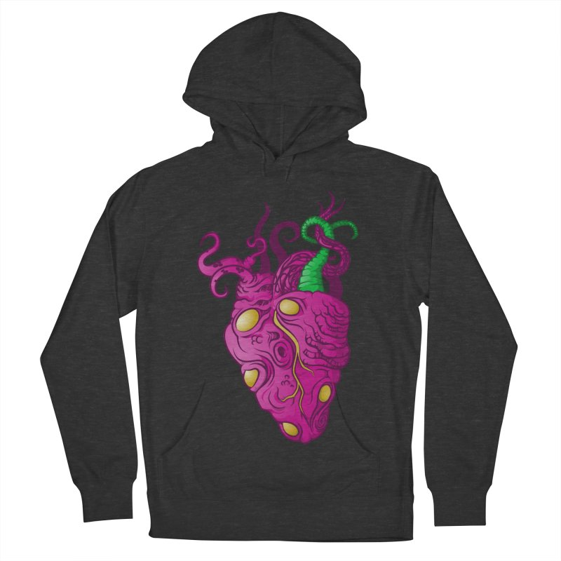 Cthulhu heart Men's French Terry Pullover Hoody by juliusllopis's Artist Shop
