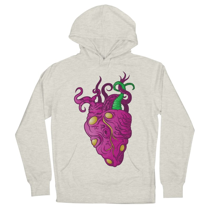 Cthulhu heart Men's Pullover Hoody by juliusllopis's Artist Shop