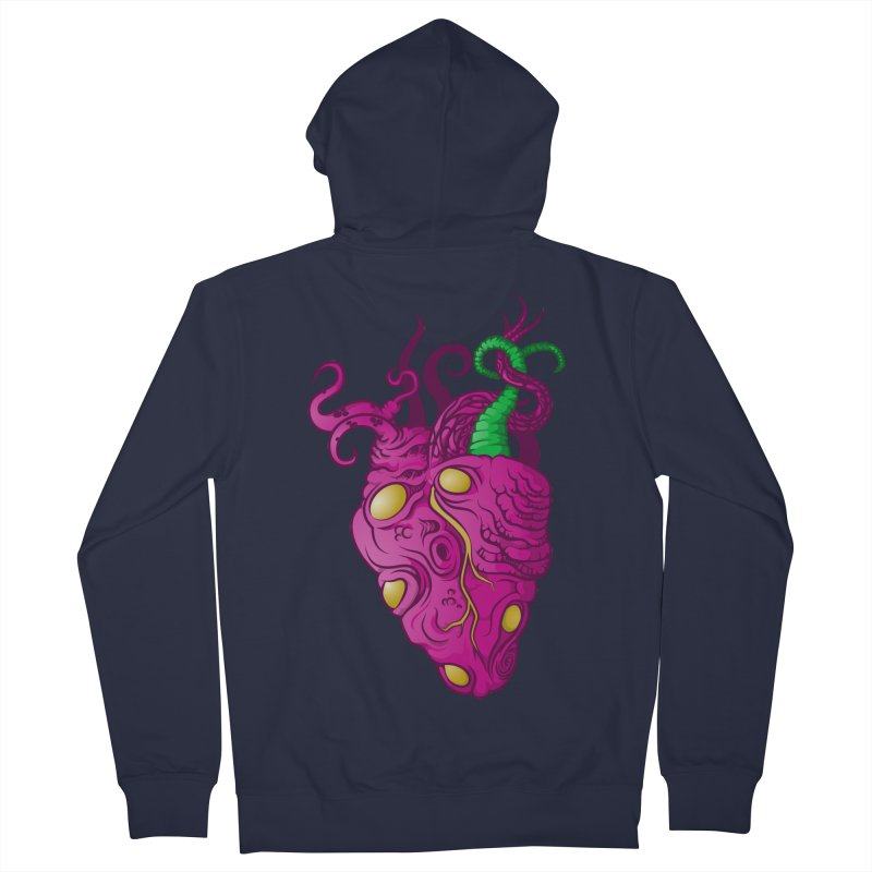 Cthulhu heart Women's Zip-Up Hoody by juliusllopis's Artist Shop