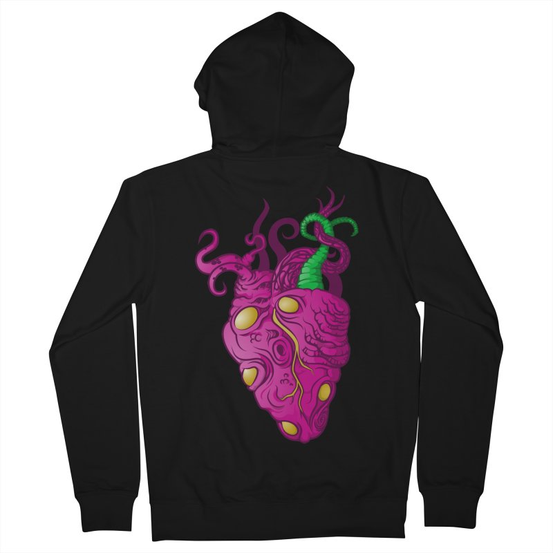 Cthulhu heart Men's Zip-Up Hoody by juliusllopis's Artist Shop