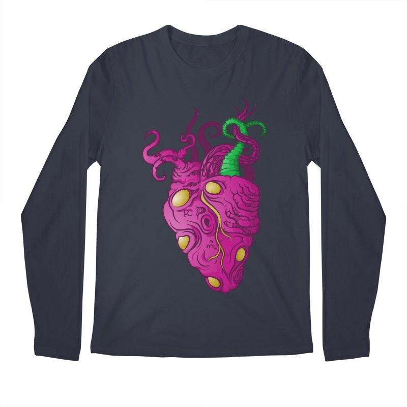 Cthulhu heart Men's Longsleeve T-Shirt by juliusllopis's Artist Shop