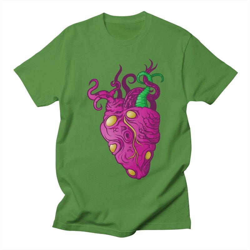 Cthulhu heart Men's T-shirt by juliusllopis's Artist Shop