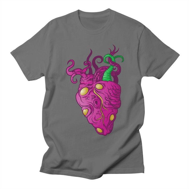 Cthulhu heart Men's Regular T-Shirt by juliusllopis's Artist Shop