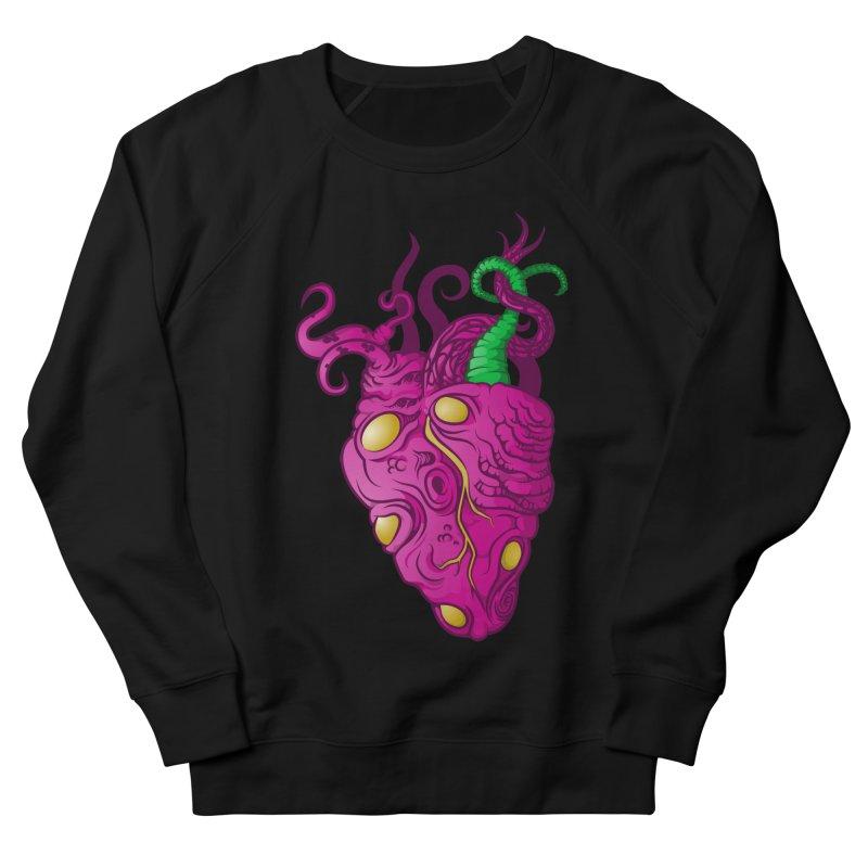 Cthulhu heart Women's French Terry Sweatshirt by juliusllopis's Artist Shop
