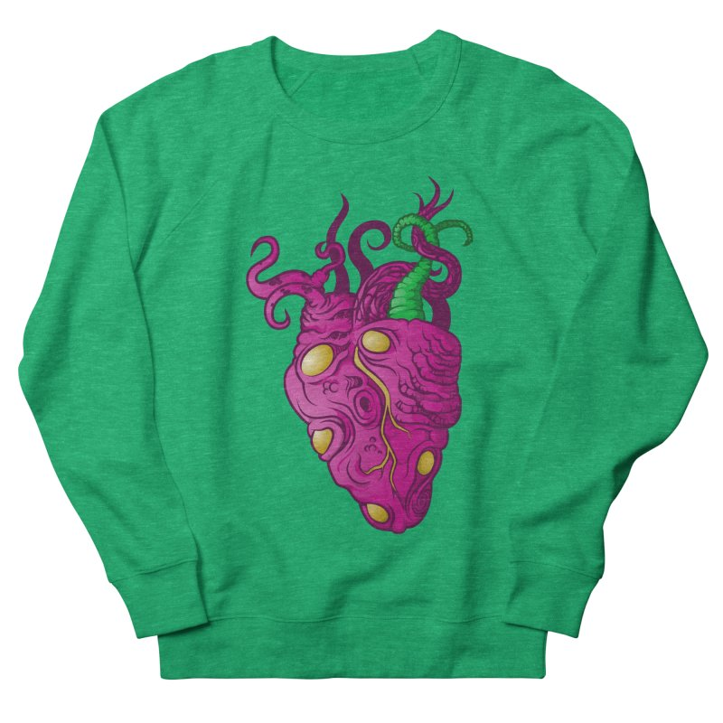 Cthulhu heart Men's French Terry Sweatshirt by juliusllopis's Artist Shop