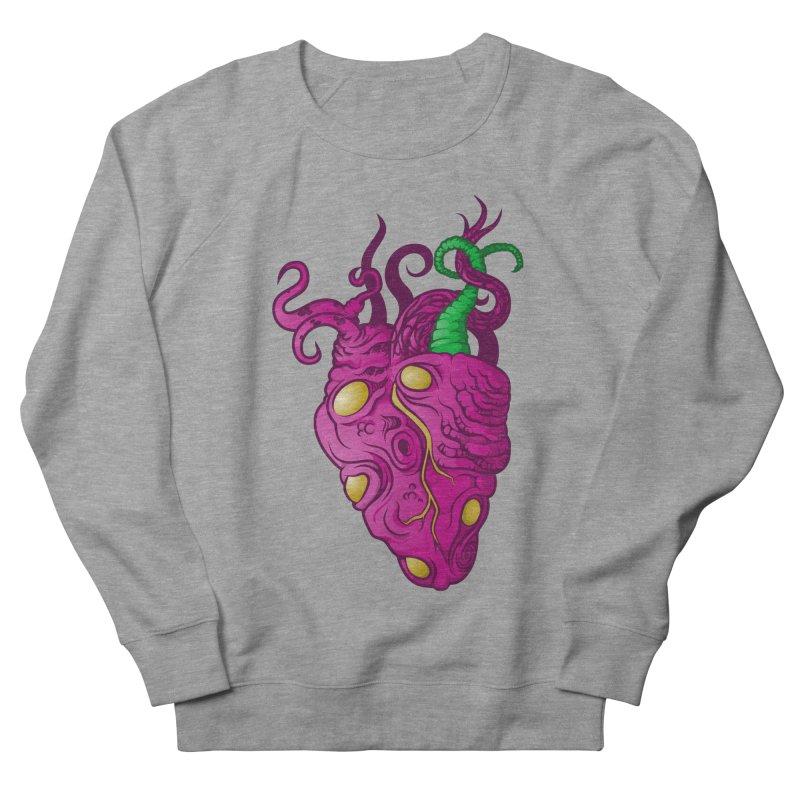 Cthulhu heart Men's French Terry Sweatshirt by juliusllopis's Artist Shop