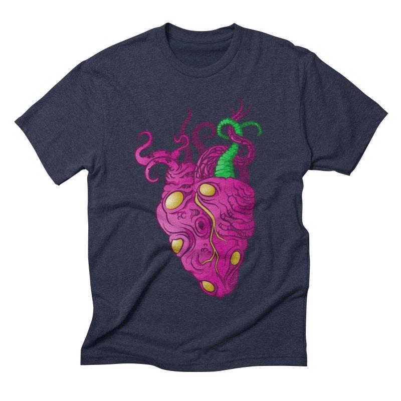 Cthulhu heart Men's Triblend T-Shirt by juliusllopis's Artist Shop