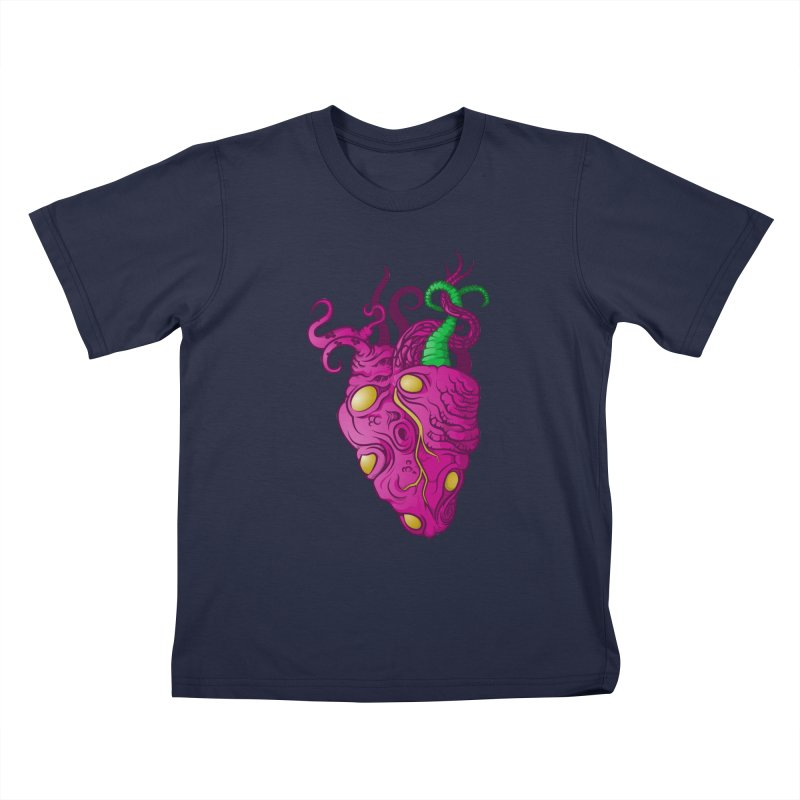 Cthulhu heart Kids Toddler T-Shirt by juliusllopis's Artist Shop