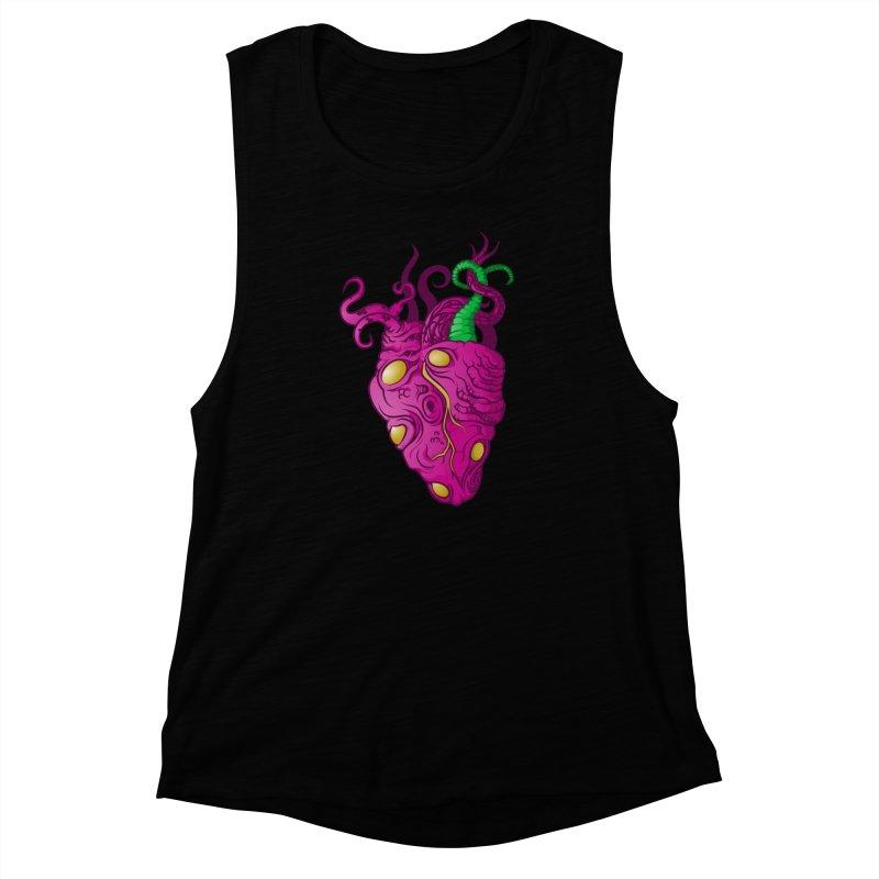 Cthulhu heart Women's Muscle Tank by juliusllopis's Artist Shop