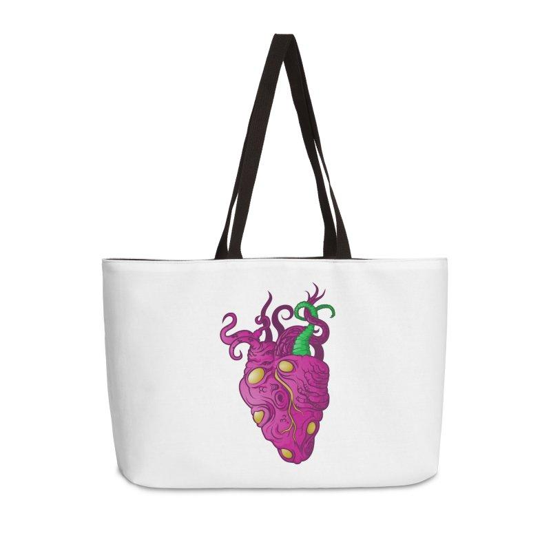 Cthulhu heart Accessories Weekender Bag Bag by juliusllopis's Artist Shop