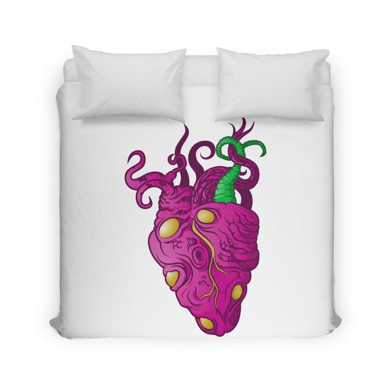 Cthulhu heart Home Duvet by juliusllopis's Artist Shop