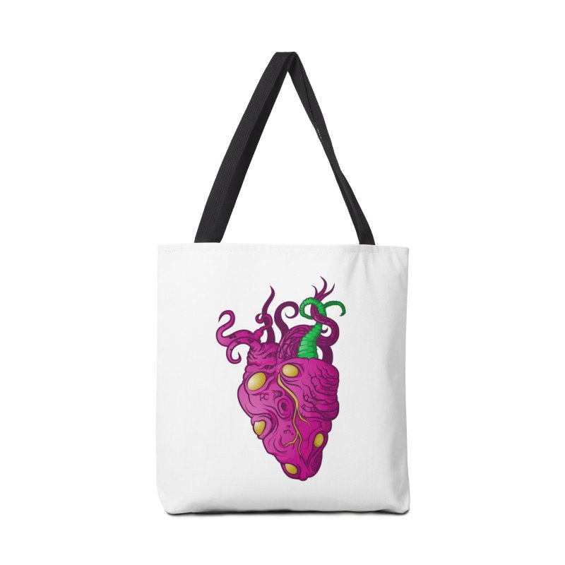 Cthulhu heart Accessories Bag by juliusllopis's Artist Shop