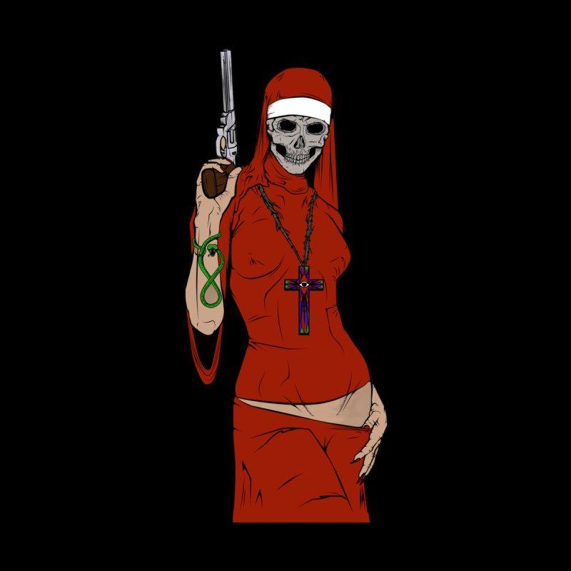 Skull nun Men's T-Shirt by juliusllopis's Artist Shop