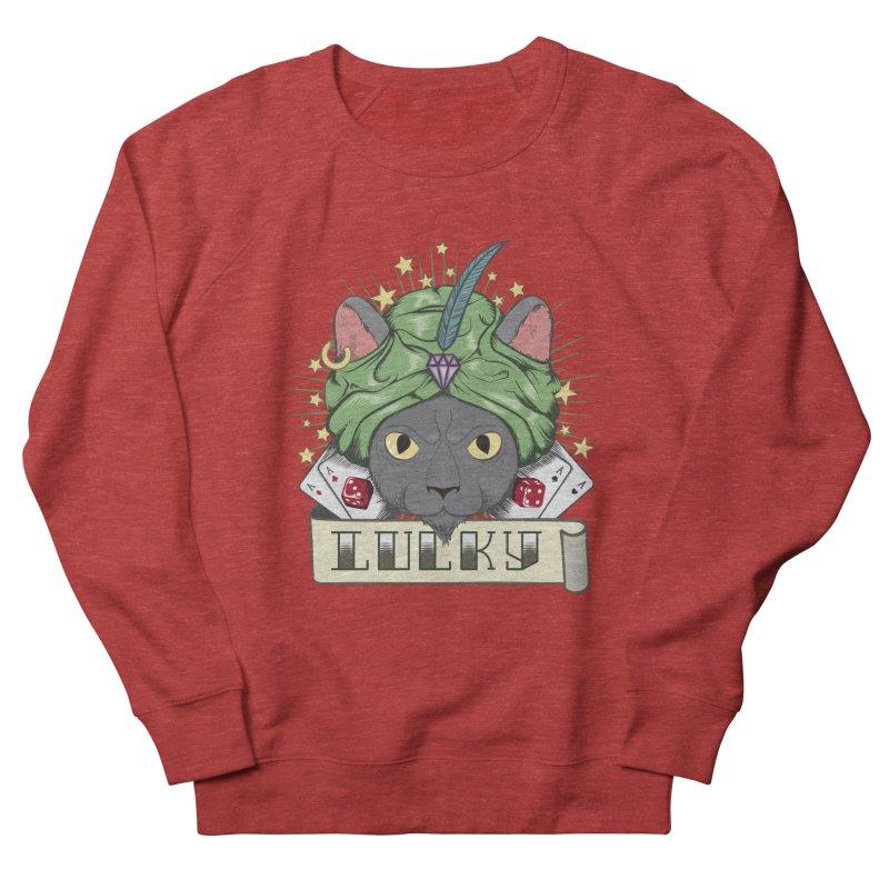 Lucky cat Women's Sweatshirt by juliusllopis's Artist Shop