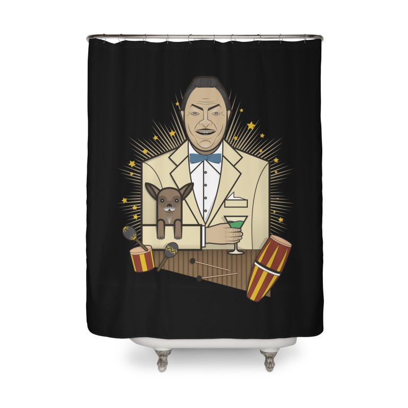 Latin party Home Shower Curtain by juliusllopis's Artist Shop