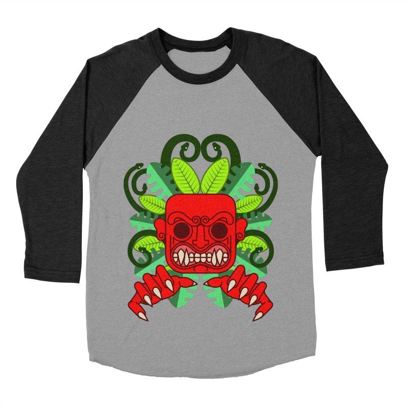 Ai Apaec Men's Baseball Triblend Longsleeve T-Shirt by juliusllopis's Artist Shop