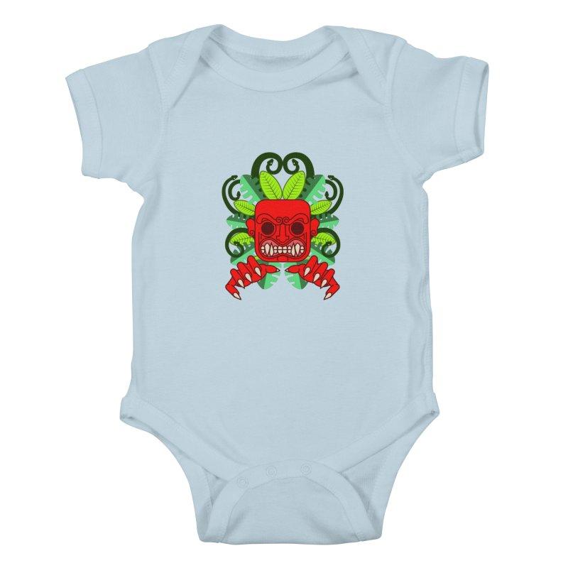 Ai Apaec Kids Baby Bodysuit by juliusllopis's Artist Shop